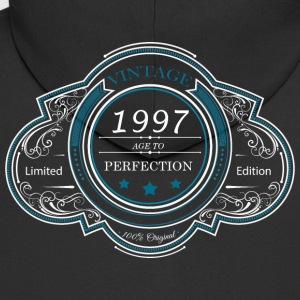Vintage 1997 age to perfection LIMITED EDITION - Men's Premium Hooded Jacket