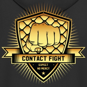 Contact Fight Gold - Men's Premium Hooded Jacket