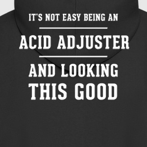 Original gift for an Acid Adjuster - Men's Premium Hooded Jacket