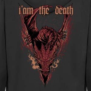 Smaug Dragon - Men's Premium Hooded Jacket