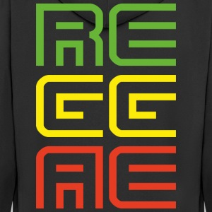 reggae - Men's Premium Hooded Jacket