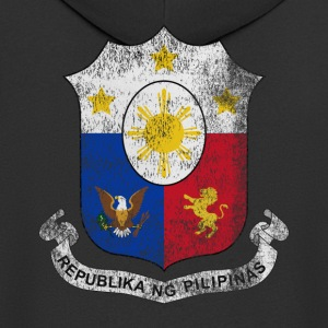 Filipino Coat of Arms Filippinerne Symbol - Herre premium hættejakke