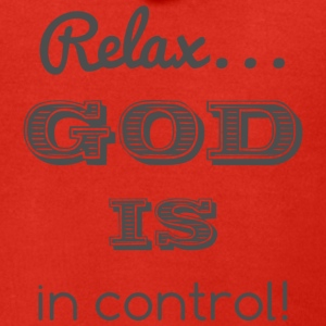 Relax God is in control - Men's Premium Hooded Jacket