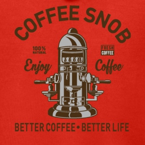 COFFEE SNOB - Men's Premium Hooded Jacket
