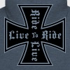live to ride - Men's Premium Hooded Jacket