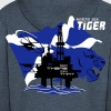 Oil Rig Oil Field North Sea Tiger Aberdeen - Men's Premium Hooded Jacket