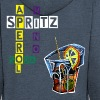Spritz Aperol Party Venezia Italia - Men's Premium Hooded Jacket