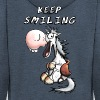 Keep Smiling Horse - Men's Premium Hooded Jacket