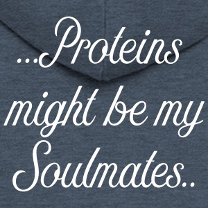 Protein might be my soulmate - Men's Premium Hooded Jacket