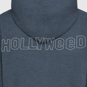Hollyweed shirt - Herre premium hættejakke