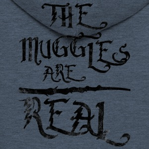 Fairy Tales: The Muggles Are Real - Men's Premium Hooded Jacket
