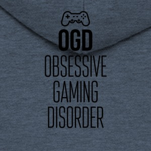 I have Obsessive Gaming Disorder - Men's Premium Hooded Jacket