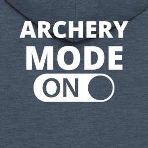 MODE ON ARCHERY - Men's Premium Hooded Jacket