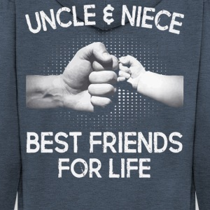 Uncle and Niece Best friends for life shirt - Men's Premium Hooded Jacket