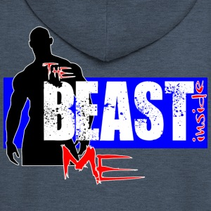 The Beast Inside Me - Premium Hettejakke for menn