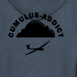 Cumulus addict - Men's Premium Hooded Jacket