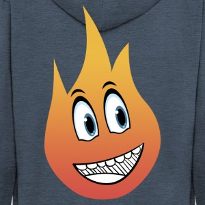 smile flame - Premium Hettejakke for menn