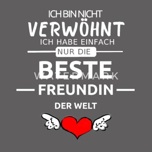Beste Freundin Der Welt Valentinstag Geschenk Manner Premium