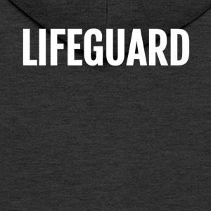 Lifeguard template - Men's Premium Hooded Jacket