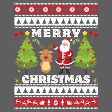 Isländisch Frohe Weihnachten.Weihnachten Geschenk Weihnachtsmann Heiligabend Männer Premium Kapuzenjacke Schwarz