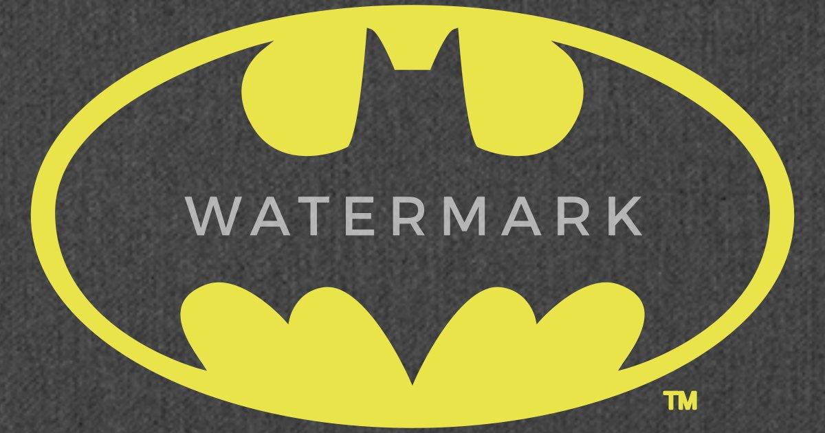 Dc Comics Batman Logo Gold Van Batman Spreadshirt