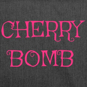 Cherry bomb - Shoulder Bag made from recycled material