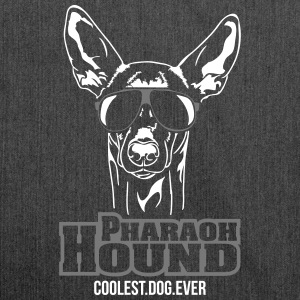 PHARAOH HOUND coolest dog ever - Schultertasche aus Recycling-Material