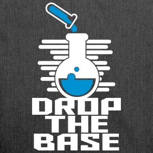 Drop the Base Chemical Science - Schultertasche aus Recycling-Material