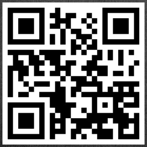 Offensive QR Code - Shoulder Bag made from recycled material