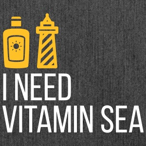 I Need Vitamin Sea! - Shoulder Bag made from recycled material