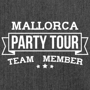 Mallorca Party Tour - Schultertasche aus Recycling-Material