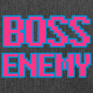 Boss Enemy - boss 8bit - Borsa in materiale riciclato