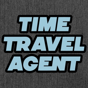 Time Travel Agent - Zeitreise Agent - Schultertasche aus Recycling-Material