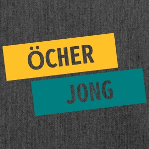 Ocher Jong - Shoulder Bag made from recycled material