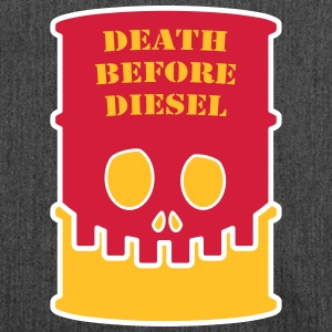 Death before diesel - Schoudertas van gerecycled materiaal