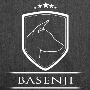 BASENJI COAT OF ARMS - Shoulder Bag made from recycled material