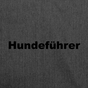 Hundefuehrer - Shoulder Bag made from recycled material