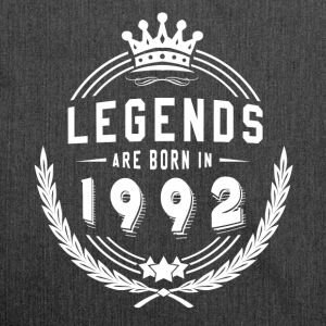 Legends are born in 1992! 01 - Schultertasche aus Recycling-Material