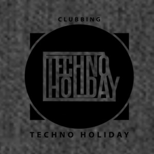 logo_techno_holiday_2017_negro1 - Skuldertaske af recycling-material