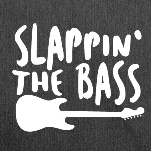 Slappin The Bass - Music! - Shoulder Bag made from recycled material