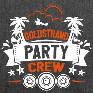 Goldstrand Party Crew - Schultertasche aus Recycling-Material