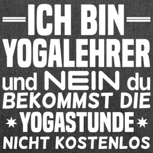 Yogalehrer - Yogastunde! - Schultertasche aus Recycling-Material