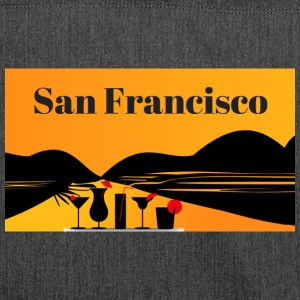 San Francisco - Shoulder Bag made from recycled material