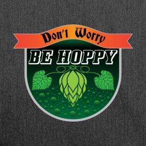 Do not Worry, Be Hoppy Gave øl alkohol humle - Skuldertaske af recycling-material