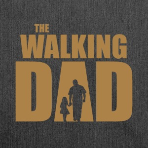 The Walking Dad - Schoudertas van gerecycled materiaal