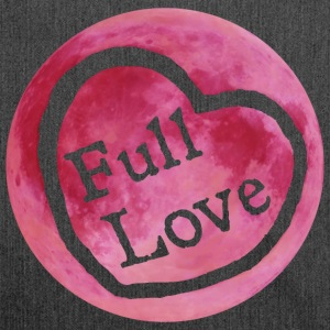 Full Moon Love - Shoulder Bag made from recycled material