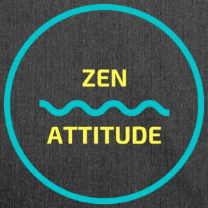 Zen attitude - Shoulder Bag made from recycled material
