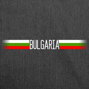 Bulgaria flag / banner 004 AllroundDesigns - Shoulder Bag made from recycled material