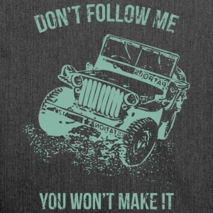 Follow Me Jeep bil - Skuldertaske af recycling-material