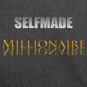 Selfmade Millionaire - Schultertasche aus Recycling-Material
